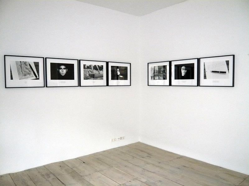 Victor Burgin Gradiva Exhibition View