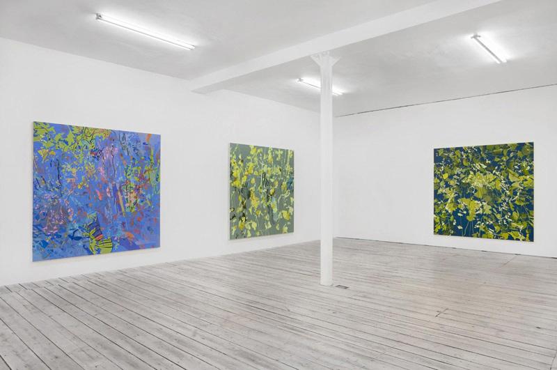 Hans Jurgen Diehl Paintings 2008 2010 Installation View 1