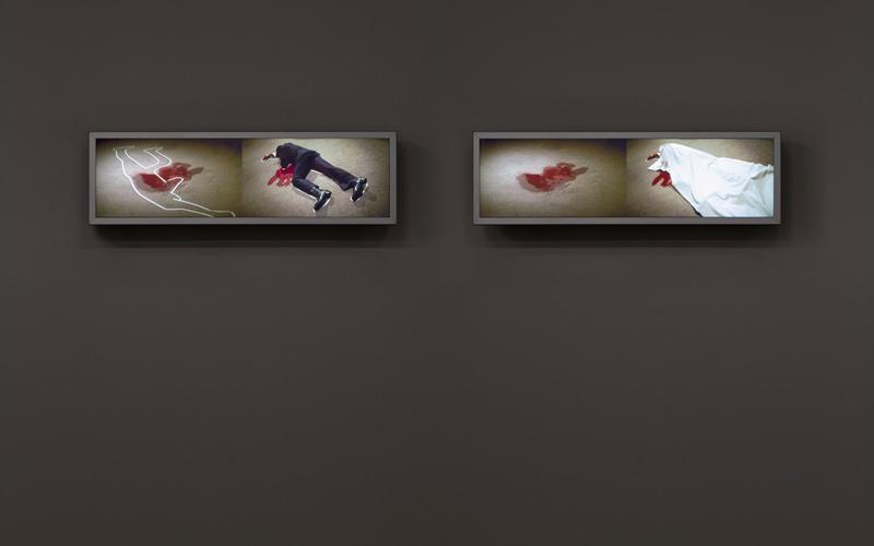 Girardet Mueller Crime Scene Exhibition View