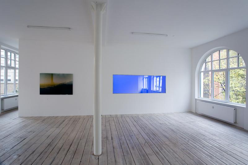 Moritz Hirsch Lookign Glass Exhibition View 1