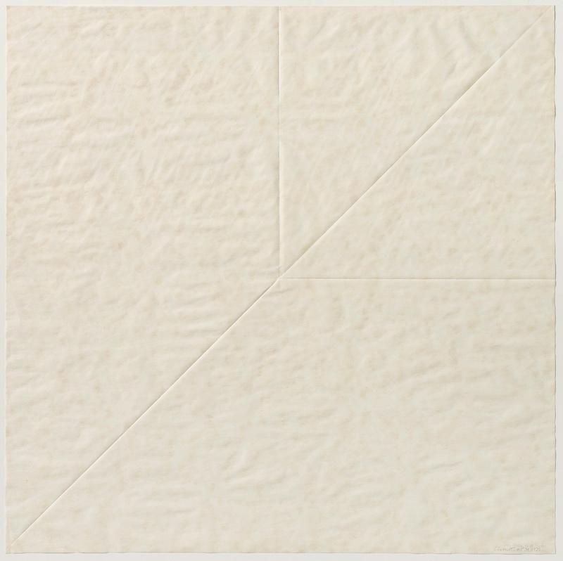Sol LeWitt Paper Fold 4