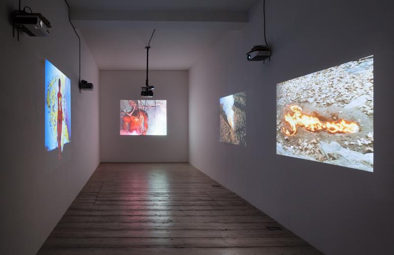Luescher Mendieta Murak Exhibition View 2