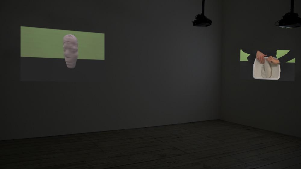 Noa Gur Splitting the Atom Exhibition View 4