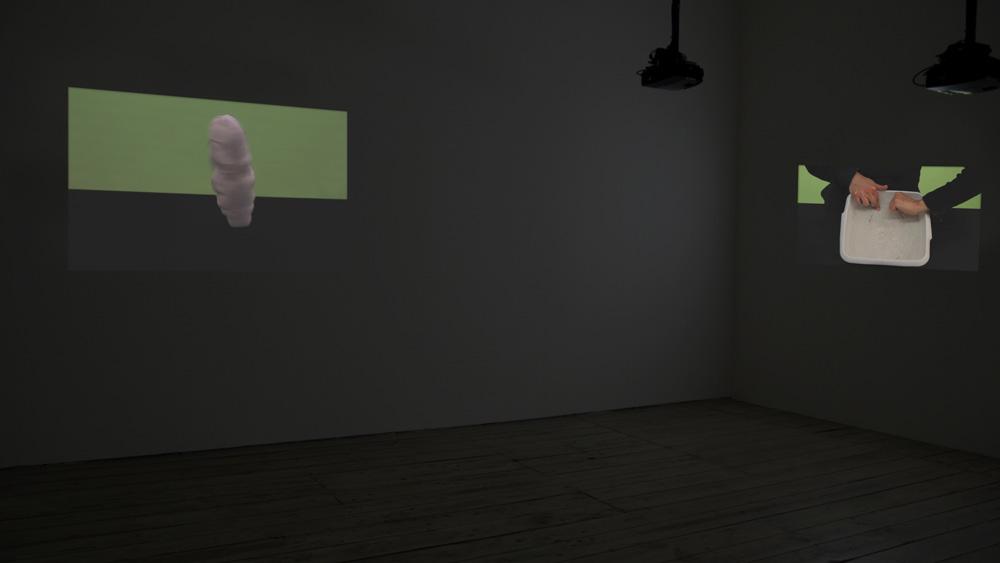 Noa Gur Splitting the Atom Exhibition View 5